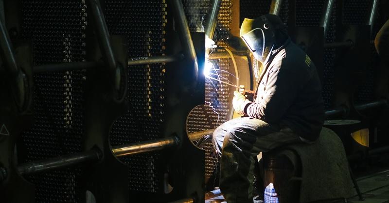 Man Welding Oman