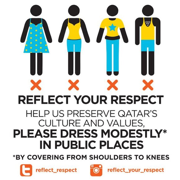 Reflect-Your-Respect-dress code in qatar