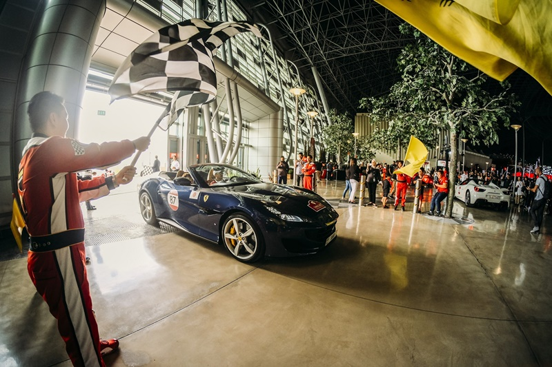 100 sports cars abu dhabi