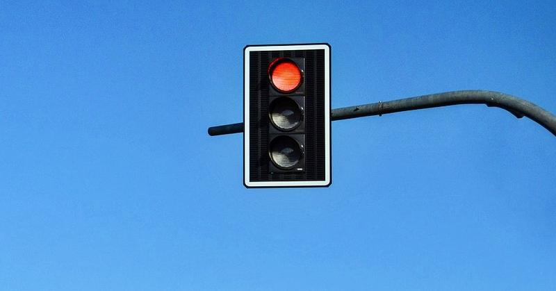 jumping on red light oman