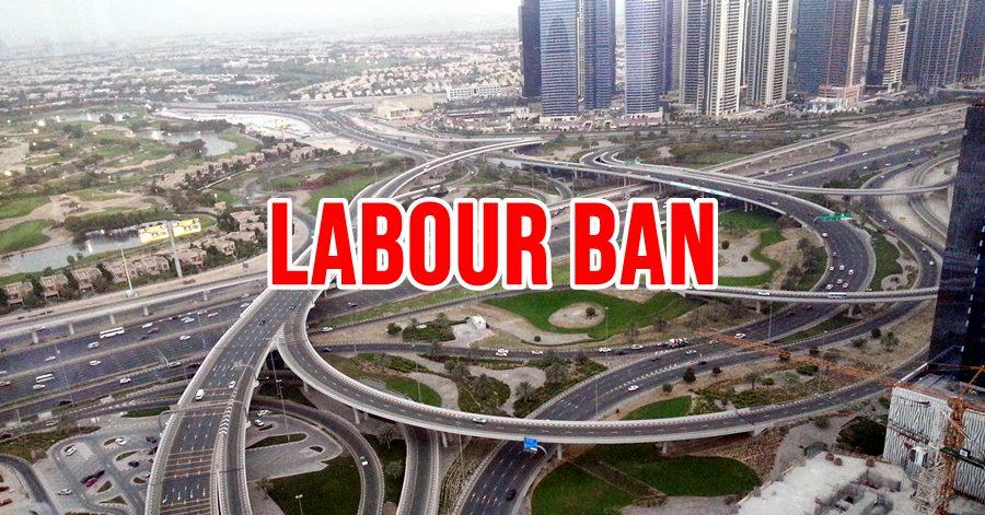 labour ban uae