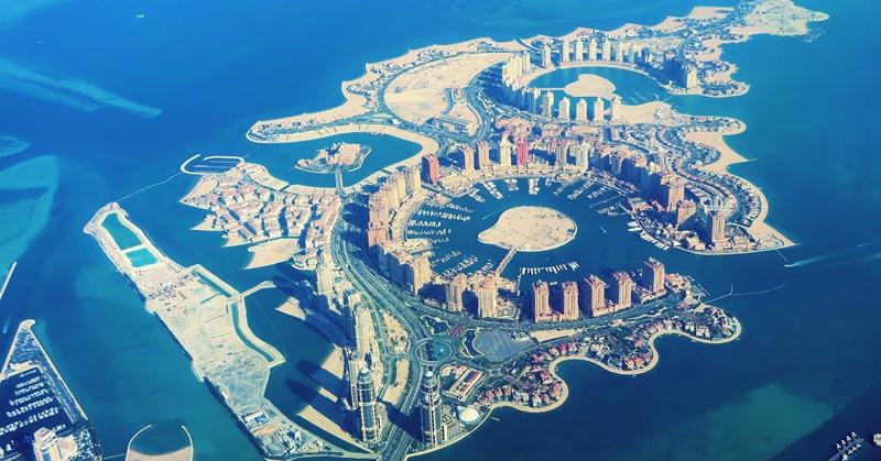 Doha Qatar Al Corniche