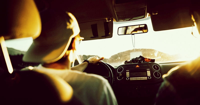 Driving Road Trip Oman